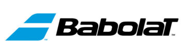 Logo de l'entreprise Babolat, gérée par Eric Babolat.