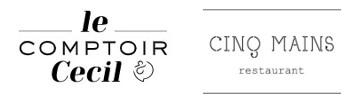 Logos des restaurants de Grégory Cuilleron